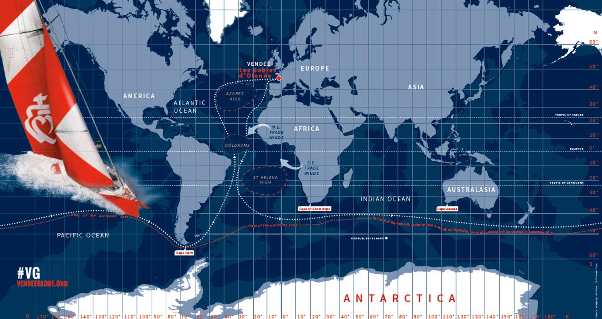 Vendee Globe Race Route_Web