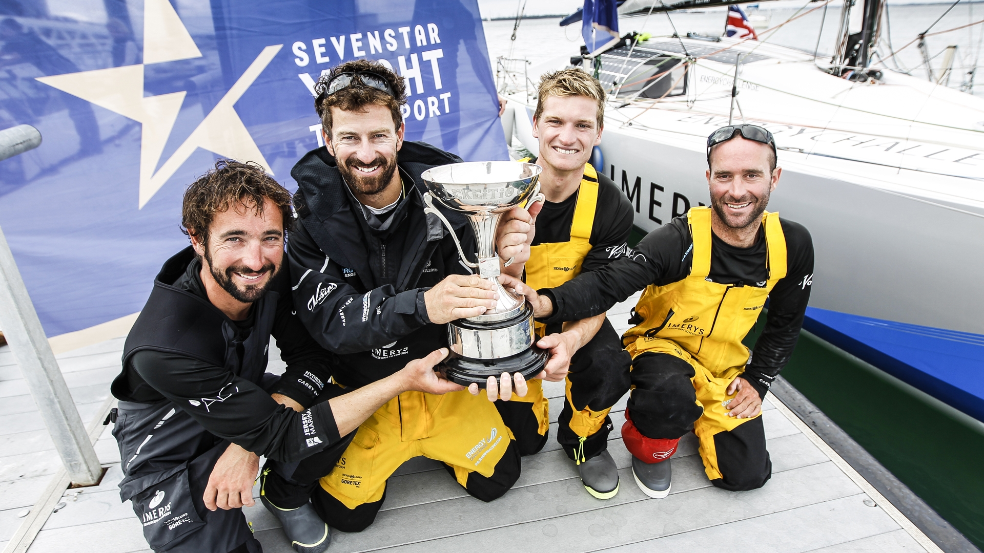 Sevenstar Round Britain and Ireland race, 2018 / Guinness World Record, World Sailing Speed Record / Credit RORC Paul Wyeth