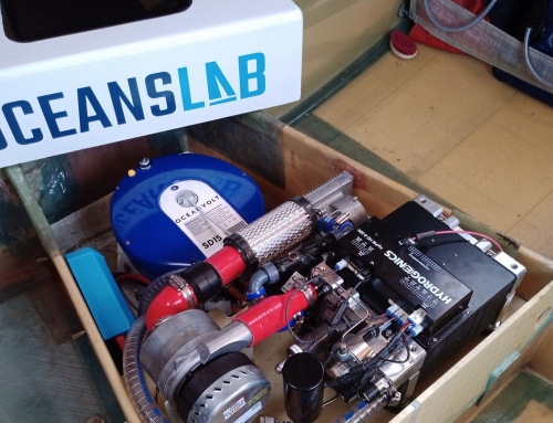 Clean-hydrogen fuel cell technology for OceansLab