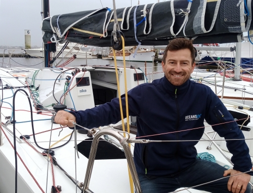 Phil Sharp joins Figaro 'Boot Camp'