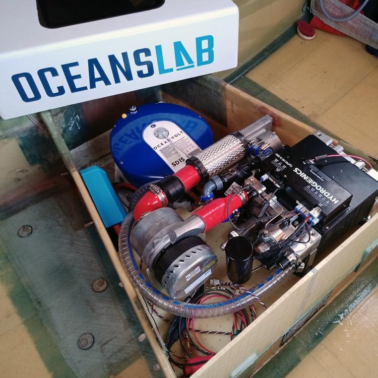 Hydrogen Electric Prototype / Phil Sharp / OceansLab / Credit www.oceanslab.world