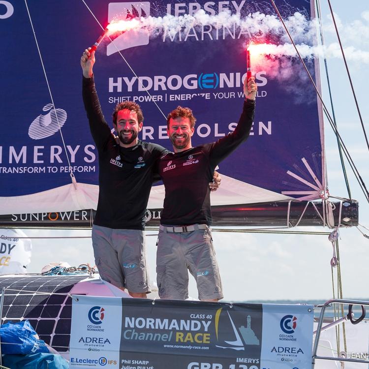 Normandy Channel Race 2018 / Phil Sharp / Julien Pulve / Credit Jean-Marie LIOT / NCR2018