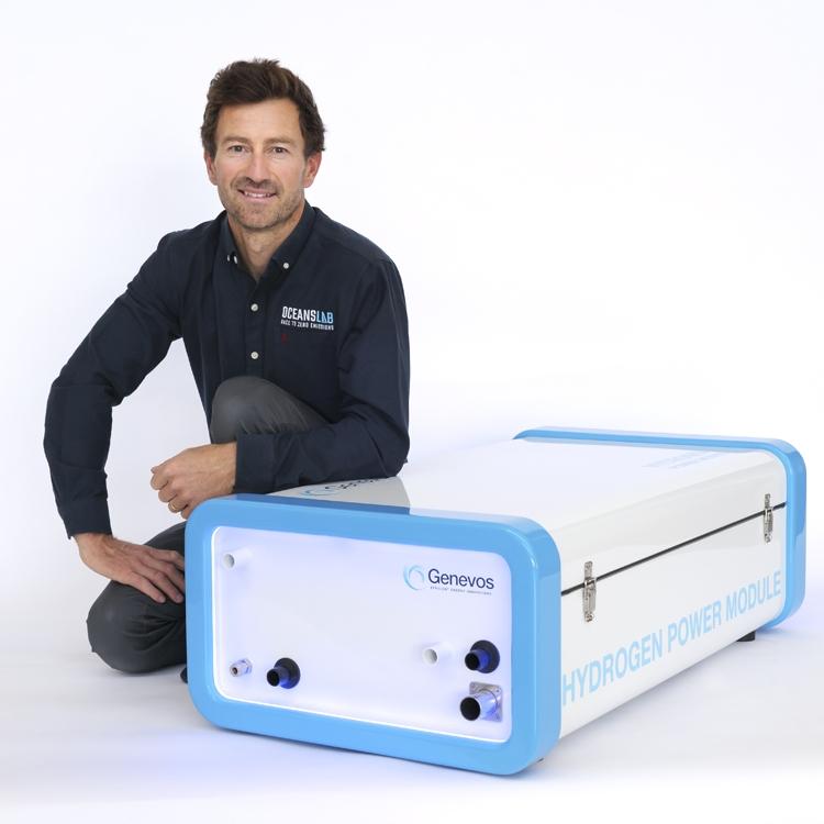 Phil Sharp - Genevos Hydrogen Power Module Credit Gilles Delacuvellerie