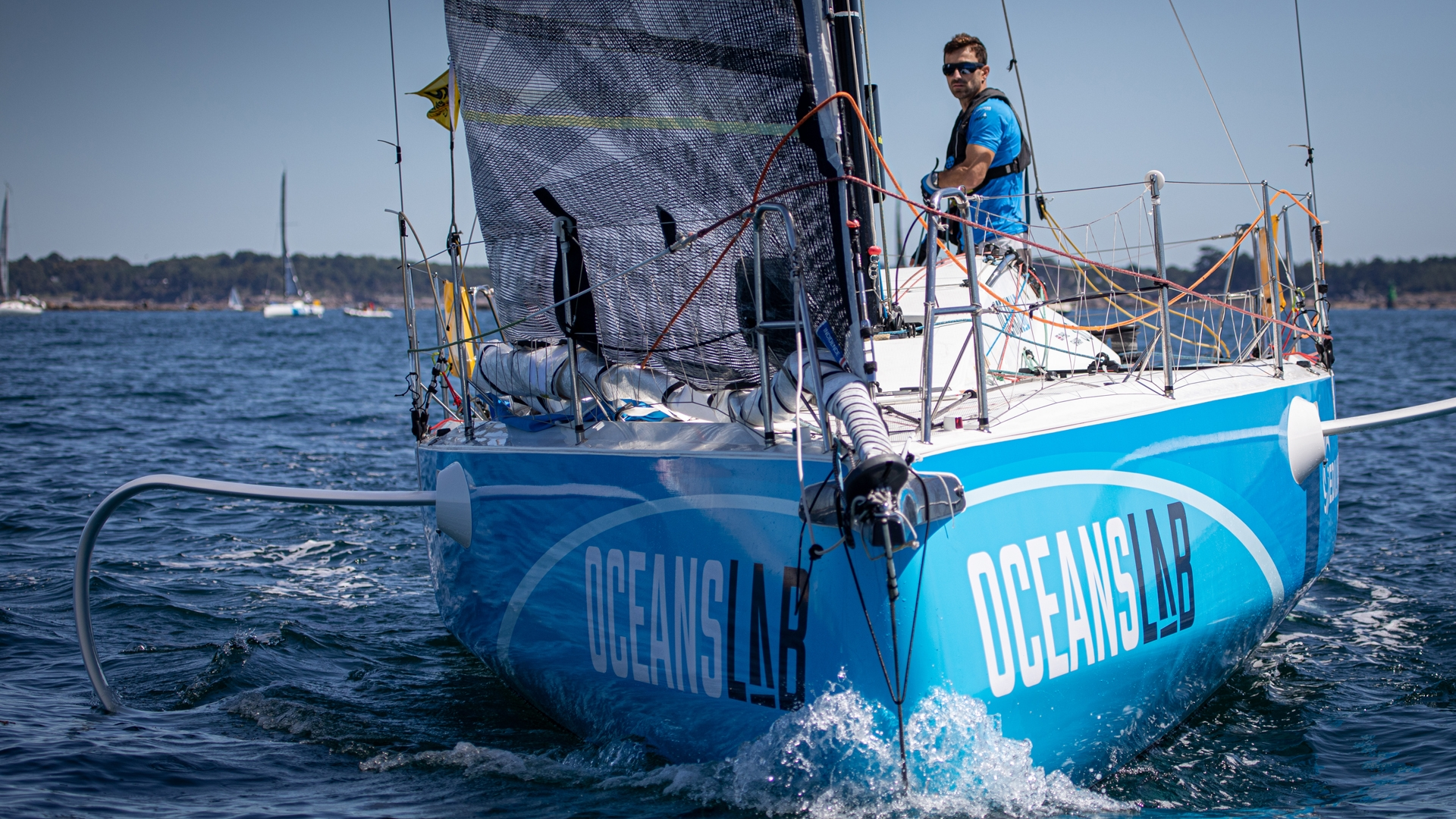Phil Sharp - Figaro 3 OceansLab - Credit Vincent Olivaud