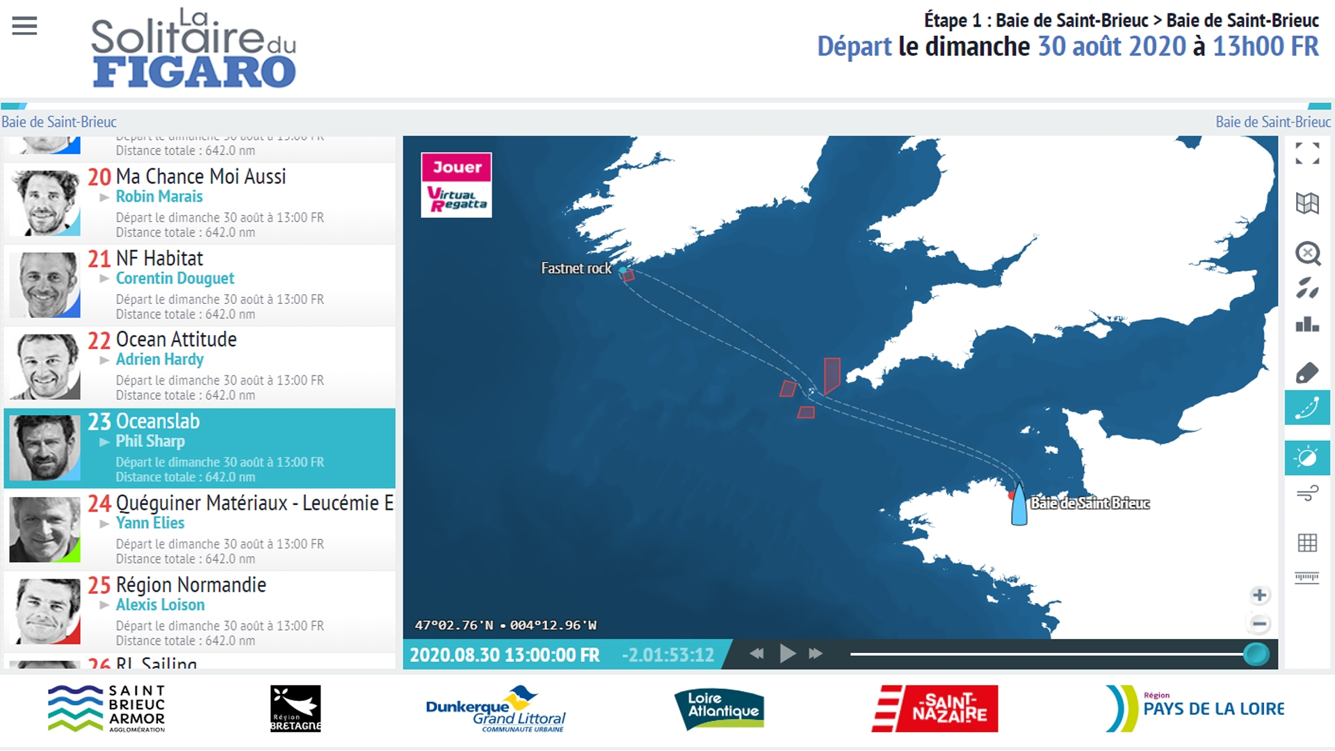 How to follow La Solitaire du Figaro