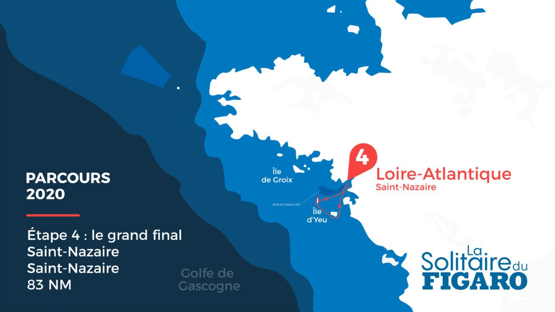 La Solitaire du Figaro - stage 4 race route