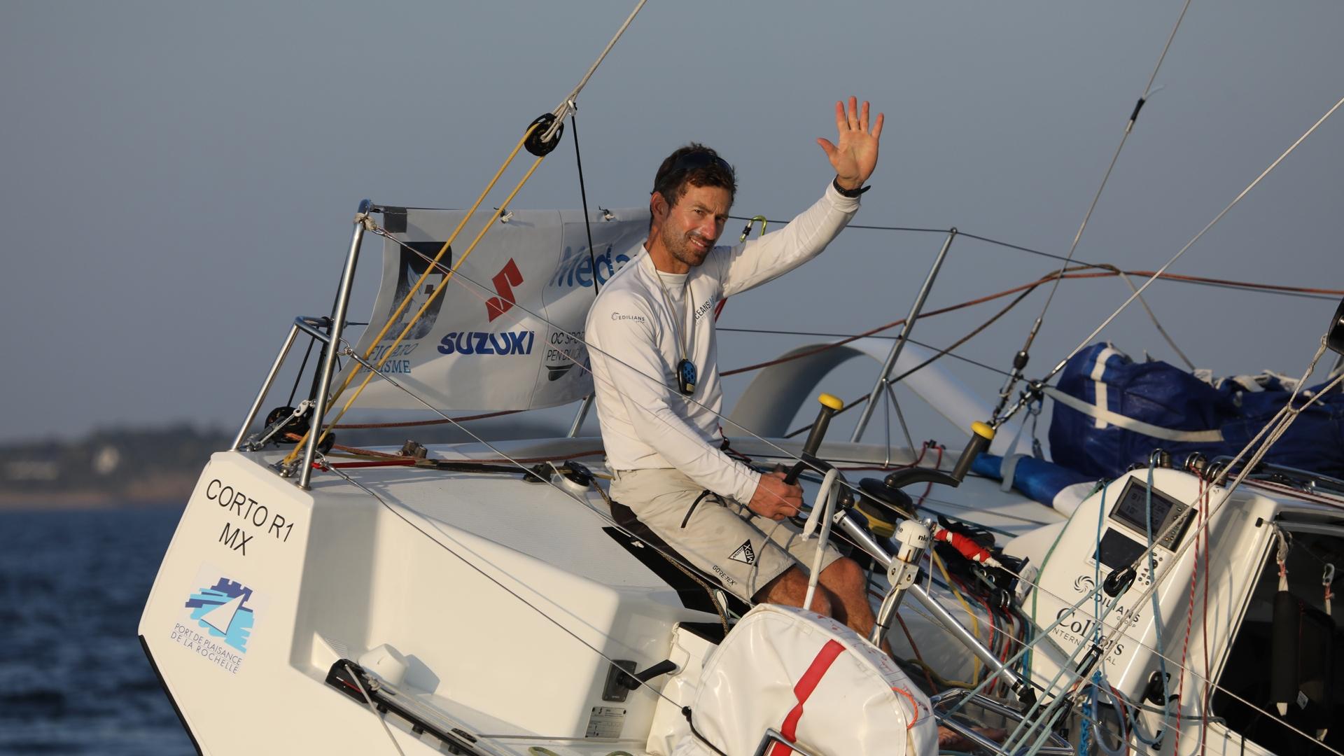 Phil Sharp - Figaro 3 OceansLab - La Solitaire du Figaro - Credit Vincent Olivaud