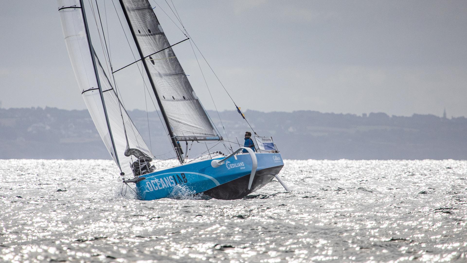 Phil Sharp - OceansLab - La Solitaire du Figaro - Credit Vincent Olivaud - olivaud.com