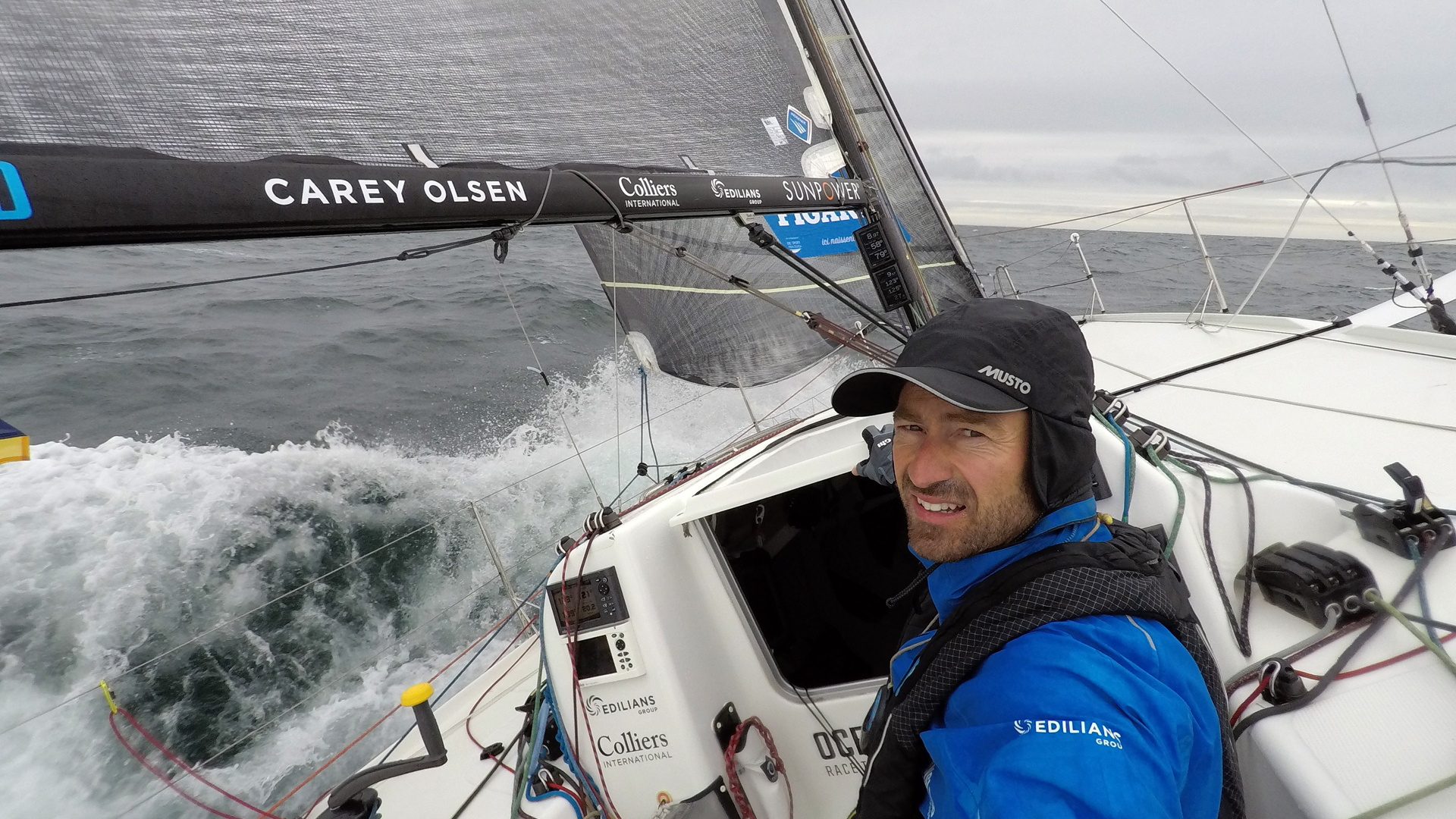 Phil Sharp - Figaro 3 OceansLab - La Solitaire du Figaro - Credit oceanslab.world