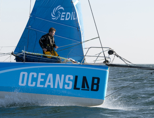 Phil Sharp announces zero emission hydrogen campaign that will culminate in the 2024 Vendée Globe